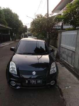 Suzuki Swift GT3 Matic 2011 Tangan 1 hitam a.n ortu jakpus