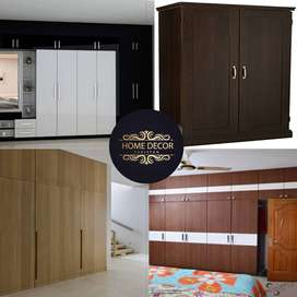 Wardrobes/Cupboards/Almari/Cabinets/Carpenter/kitchen