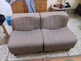 SOFA CHAIRS (PAIR) GENUINE FROM HABITT