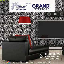 Fabolous wallpapers by Grand interiors