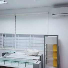 Tirai jendela roller blind murah berkualitas jakarta