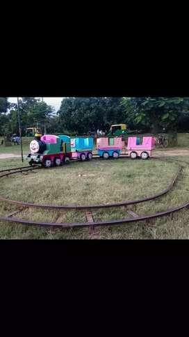 Toy train big track