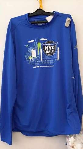 Baju/kaos olahraga/Jersey new balance ori edisi maraton