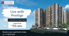 3 bhk in peaceful area of mysore.