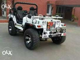 Full modified jeeps ready to order basis