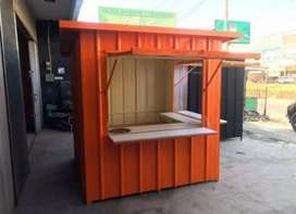 CONTAINER JUALAN. BOOTH FOODCOURT KEKINIAN. CAFE BAR
