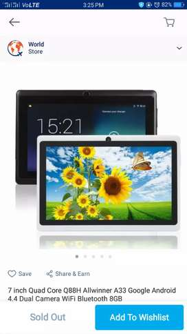 Good condition new tablet for sale