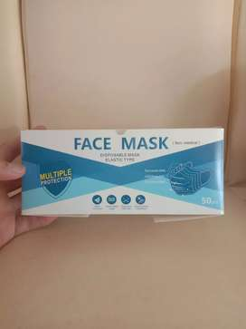 Face mask Masker 3-ply