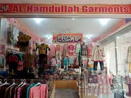 Kids garments shop