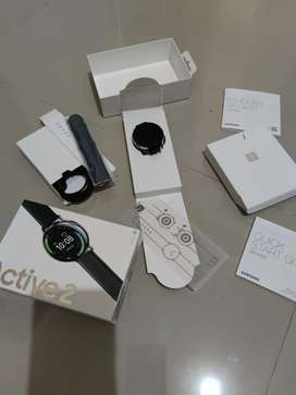 Samsung Galaxy Watch Active 2 Stainless Steel - Silver 44mm