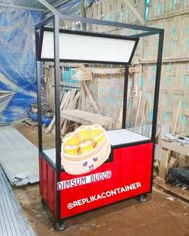 Booth Container Pujasera