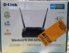 D-Link Wireless N 300 ADSL+2 Router