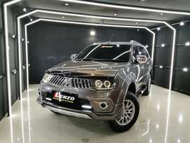 Pajero Exceed Limited Th 2013 (N) Coklat km70rb Simpanan