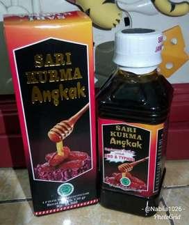 Sari kurma madu angkak obat demam berdarah DBD dan typus