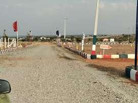 Rs 3900/- sq yd Shamshabad near layout location Chegur