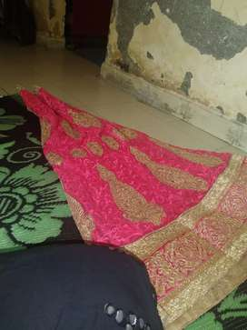 Lehnga one time use