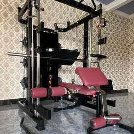 Alat fitnes multi fungsion trainer plus legpress plus free beban 100kg