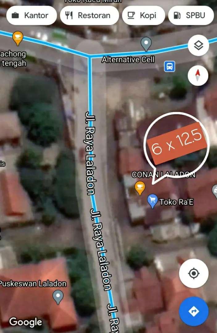 Lokasi Pertigaan Laladon 6x12