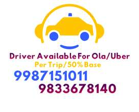 Driver Available For Ola,,Uber Cab, With TR Licence, All Maharashtra,