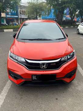 Jazz rs matic tahun 2018 plat BL