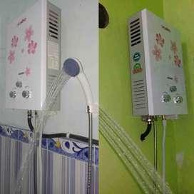 Penghangat Air Shower LPG Aman Kekinian terbaru