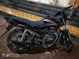 Single hand used without any problem.. Well maintained bike