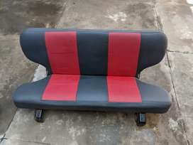 Pajero back seat 3 door jeep