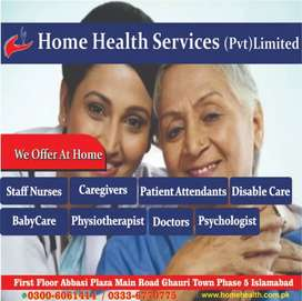 Caring for those you love at your own comfortable home