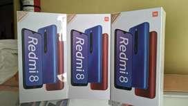 Redmi 8 4/64 garansi resmi bukan note 8