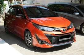 Toyota Yaris TRD Sportivo AT Matic 2018 Orange MULUS KM RENDAH