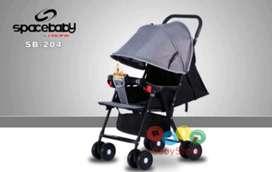 Stroller Spacebaby bisa 3 posisi 485rb Ready