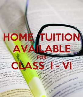 Home tuition for class 1 to 6