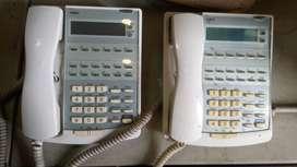 Telephone Display Master PABX NEC Bekas, kondisi 90%