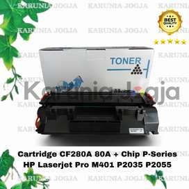 Toner Cartridge HP 80A Laserjet CF280A P2035 P2055