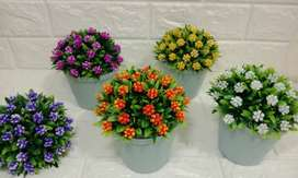Bunga Hiasan Artifical 03 - Pajangan Dekorasi Interior (Tanpa Pot)