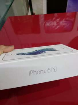 iPhone 6s with box and All accessories available silver color availabl