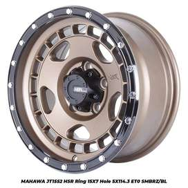 velg  MAHAWA JT1552 HSR R15X7 H5X114,3 ET0 SMBRZ/BL