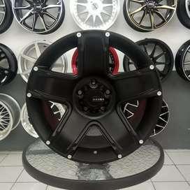 Velg Mamba R17x9 h5x114.3 ET 25 untuk mobil Rush Terios CRV HRV Innova