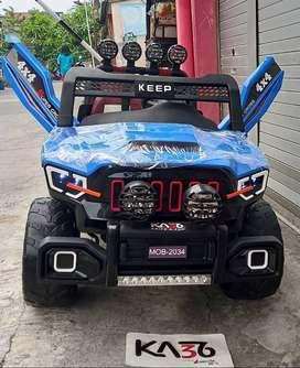 Mainan Mobil Aki Anak Jeep MOB 2034 Bomber