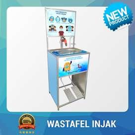 Wastafel Portable Injak Logo TK dan SD