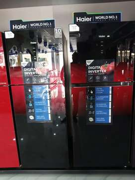 Haier brand refrigerator all range of inverter available.