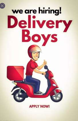 E COMMENCE DELIVERY BOY WANTED