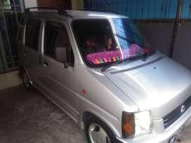 Dijual mobil Suzuki karimun petak thn 2000, warna Silver , pw, cl,tape