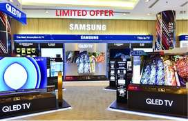 """Month offer Samsung 43"""" LED smart wifi android 4k 1 Year warranty"""