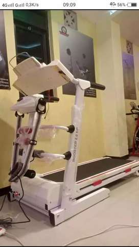 Termurah treadmill elektrik 4 fungsi auto incline