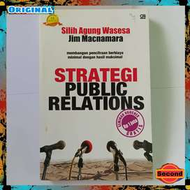 Buku Strategi Public Relations Original By Jim Macnamara