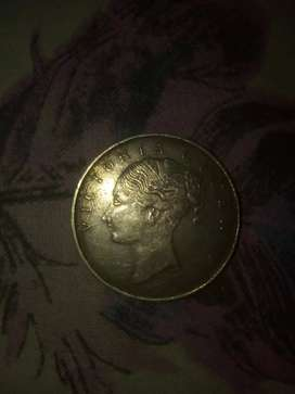 Old coin of victoria Queen son 1830