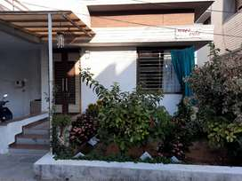 3 BHK Fully Furnished house with Car parking Garden and 3 side open