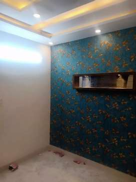 75 gaj 3bhk with car parking and 90% bank loan and 3.5 lacs subsidy