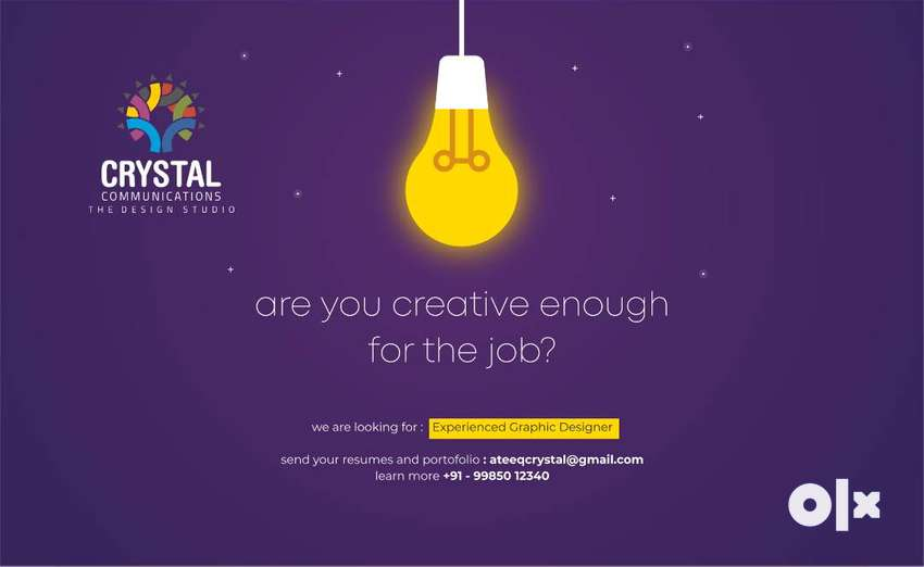 Required Experienced Graphic Designer 0